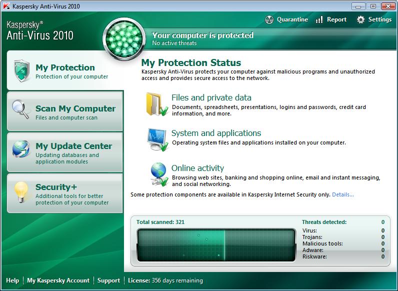 block program from accessing internet kaspersky