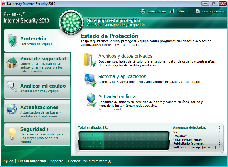 descargar Kaspersky Internet Security 2010